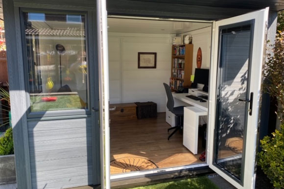Composite Garden Office London