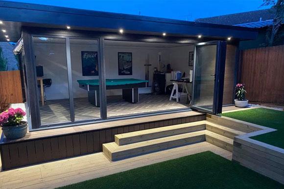 Relaxing Garden Studio Retreats London